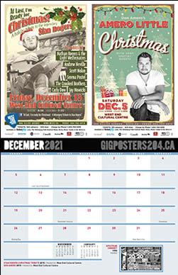 Gig Posters - December