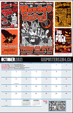 GIg Posters - October