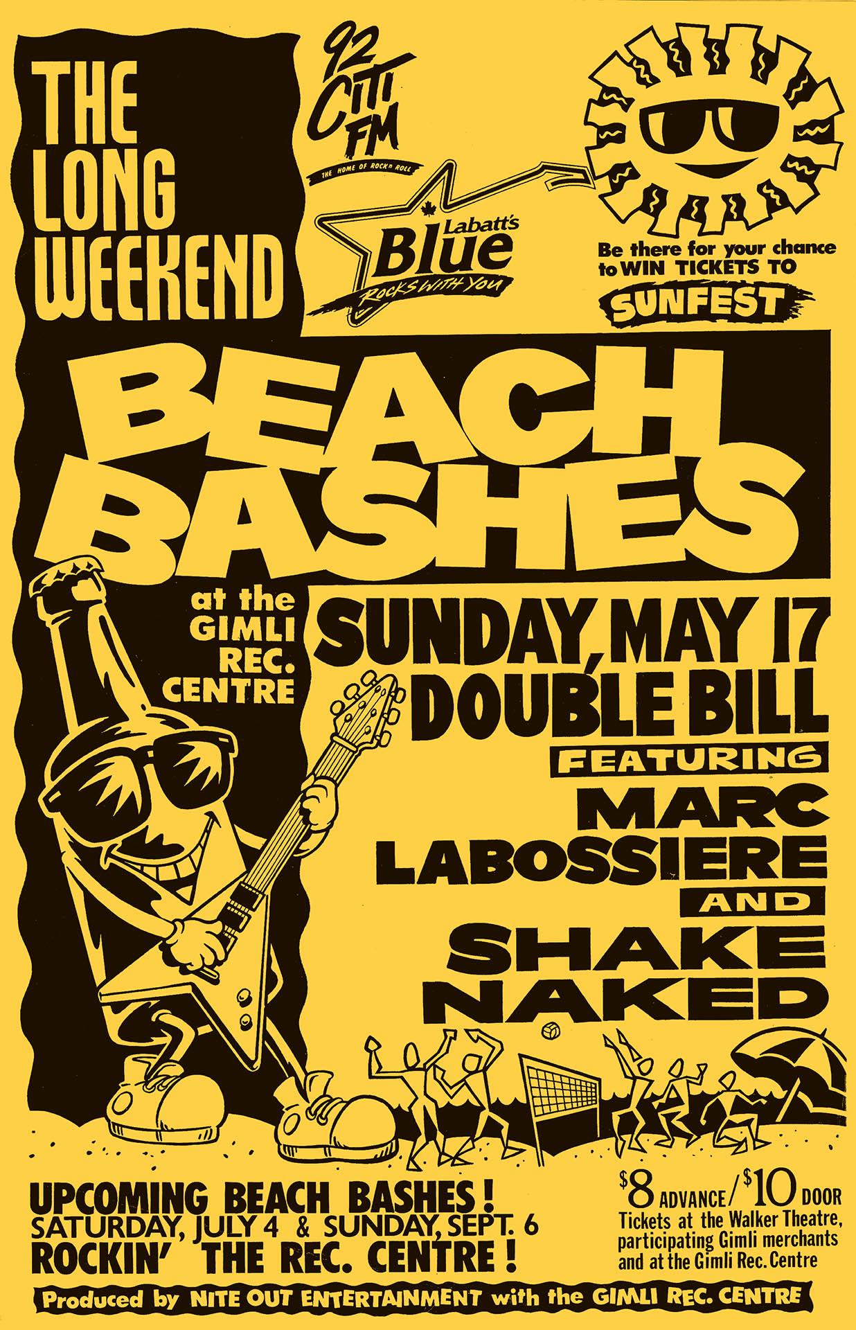 Beach Bashes - 1992
