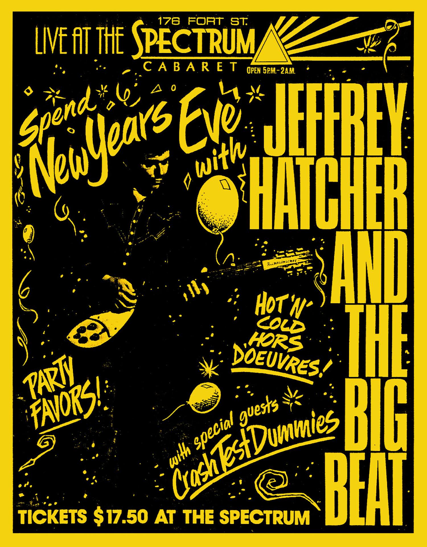 Jeffrey Hatcher and the Big Beat - 1990