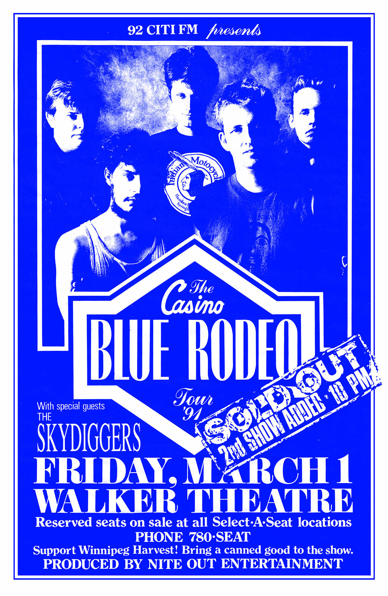 Blue Rodeo - 1991