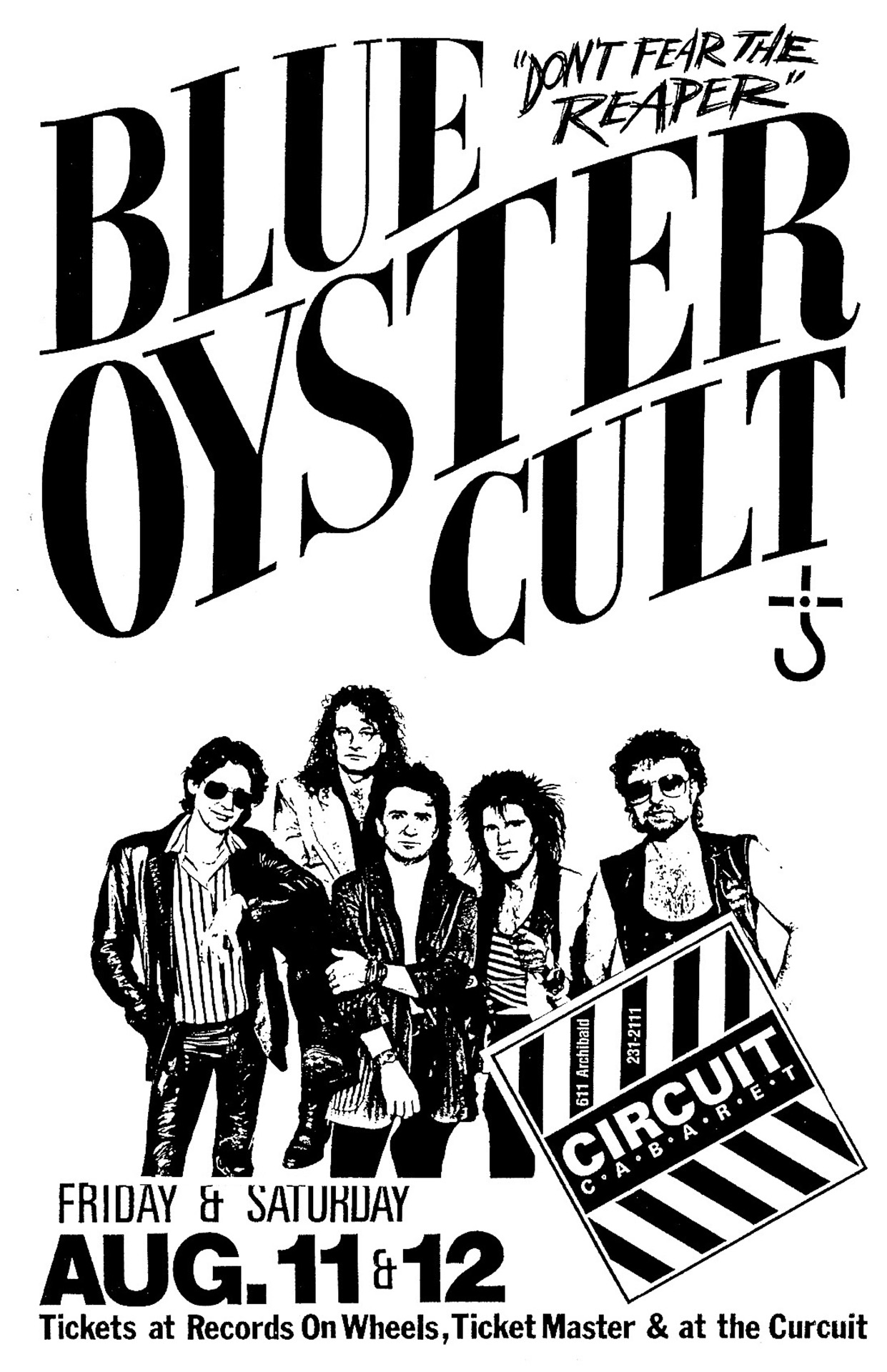 Blue Oyster Cult - 1989