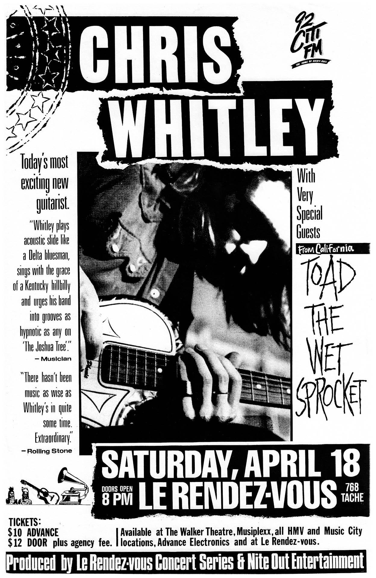 Chris Whitley - 1992