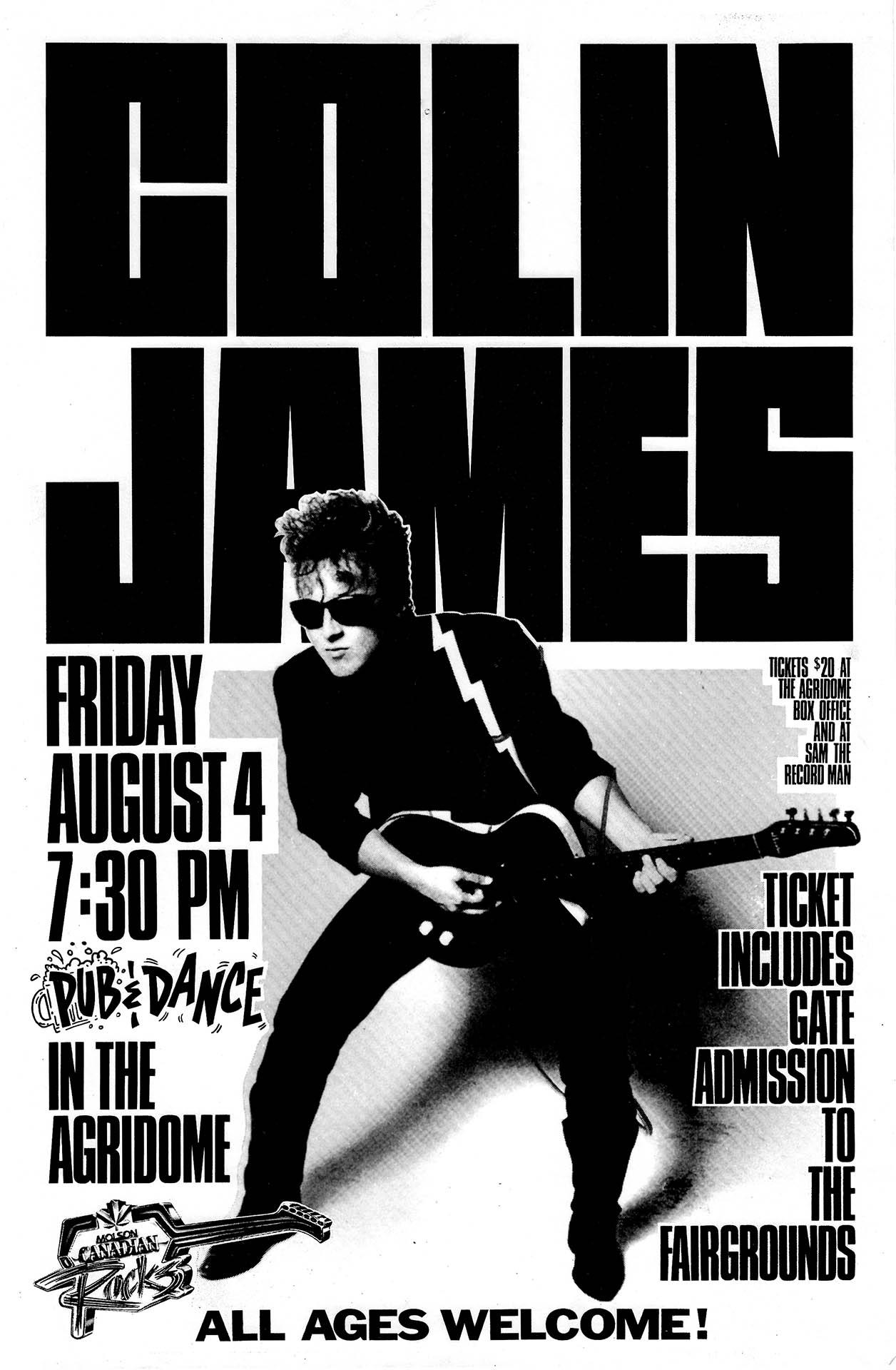 Colin James - 1989