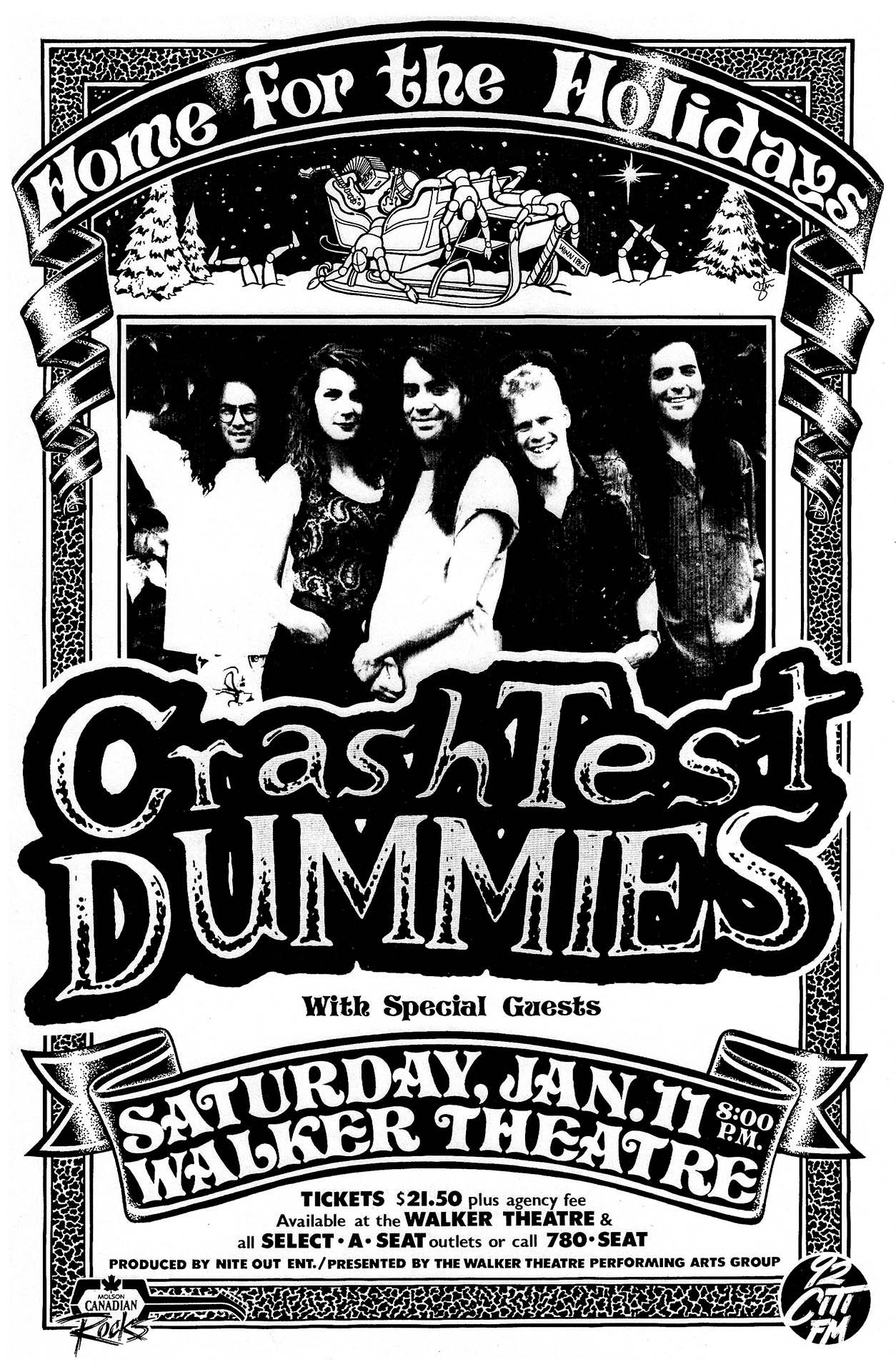 Crash Test Dummies - 1992