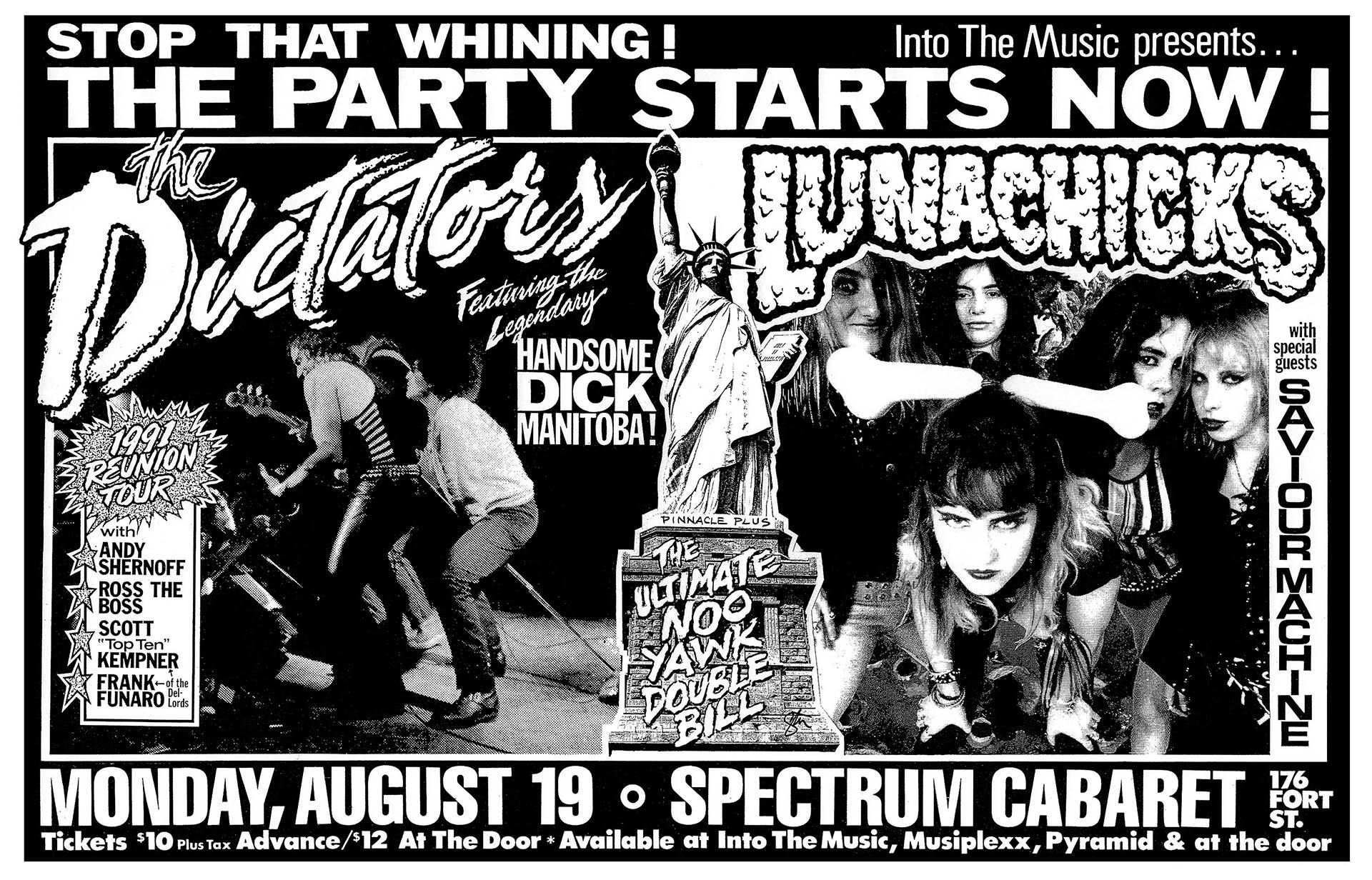 The Dictators - 1991
