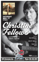 Christine Fellows - 2018