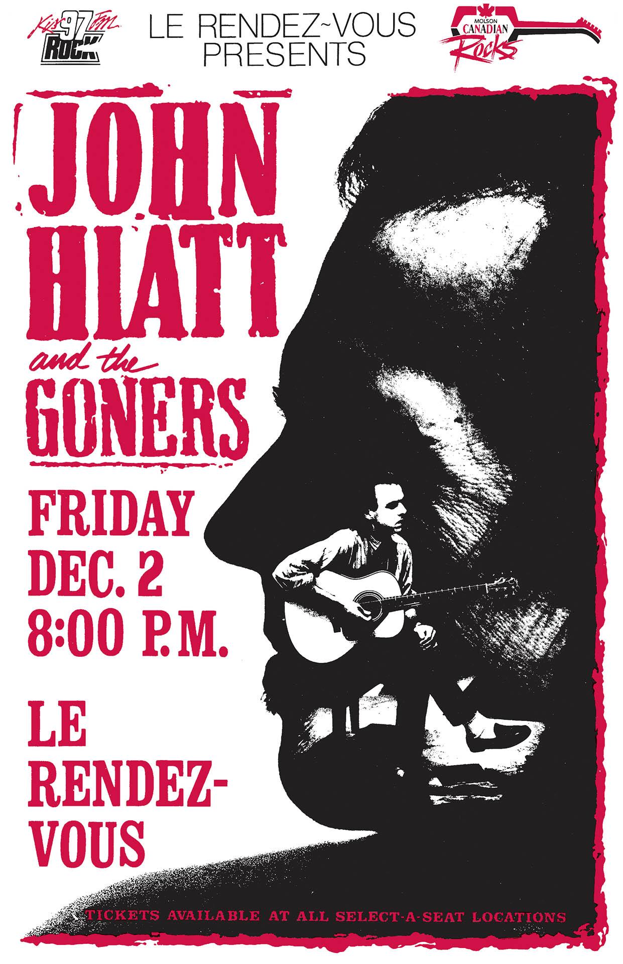 John Hiatt and the Gonners - 1988