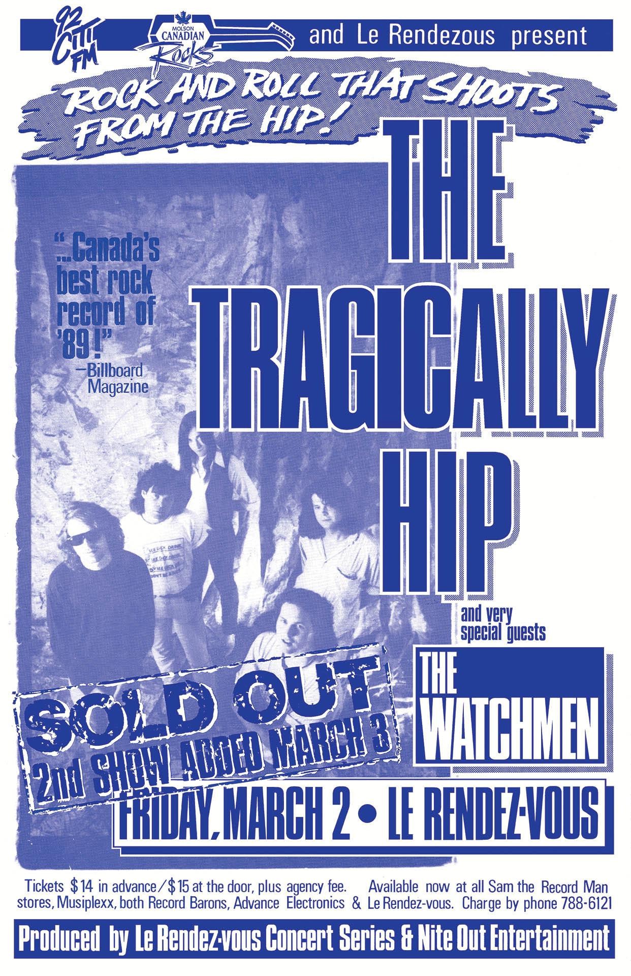 The Tragically Hip - 1990