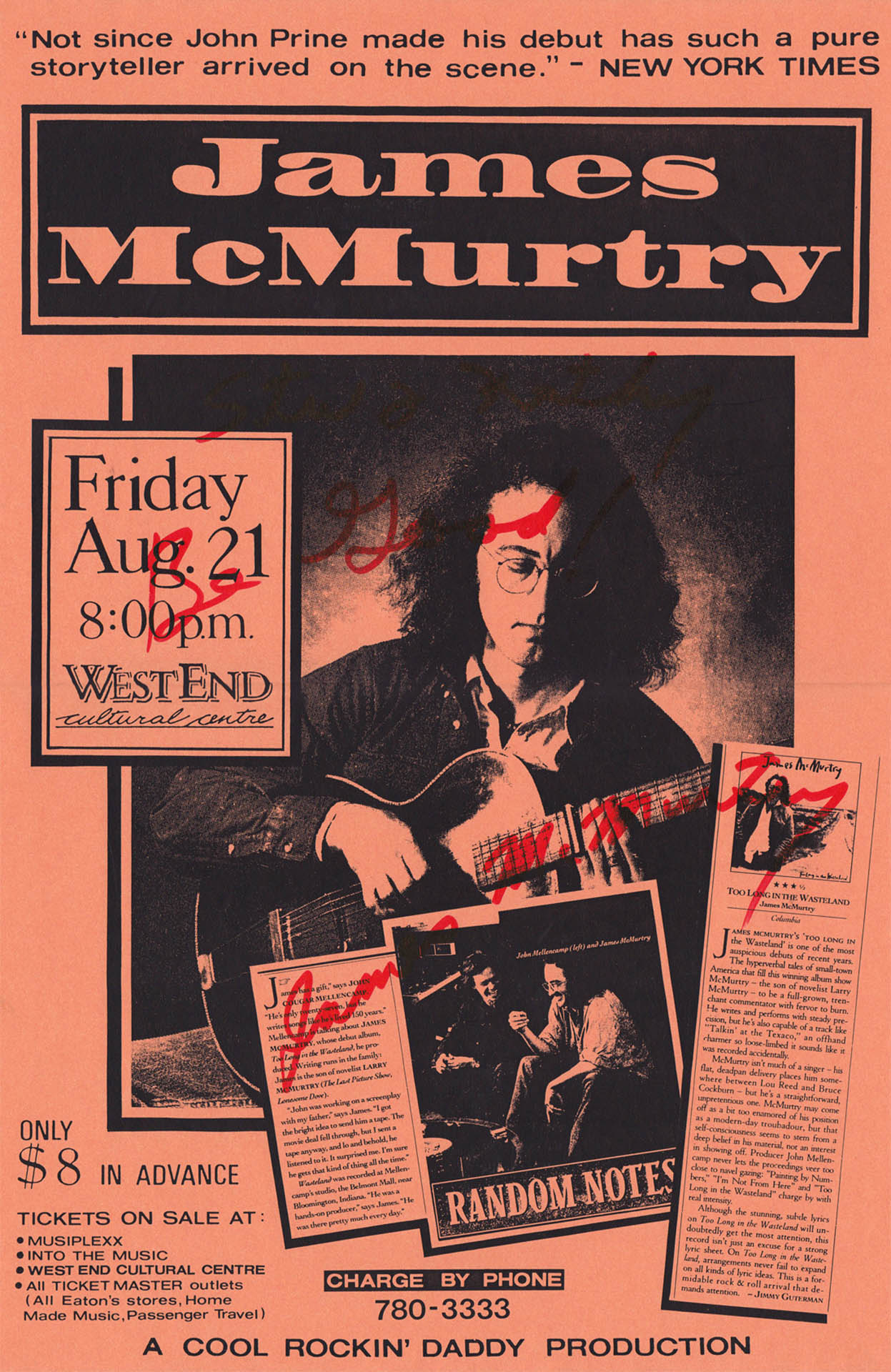 James McMurtry - 1992