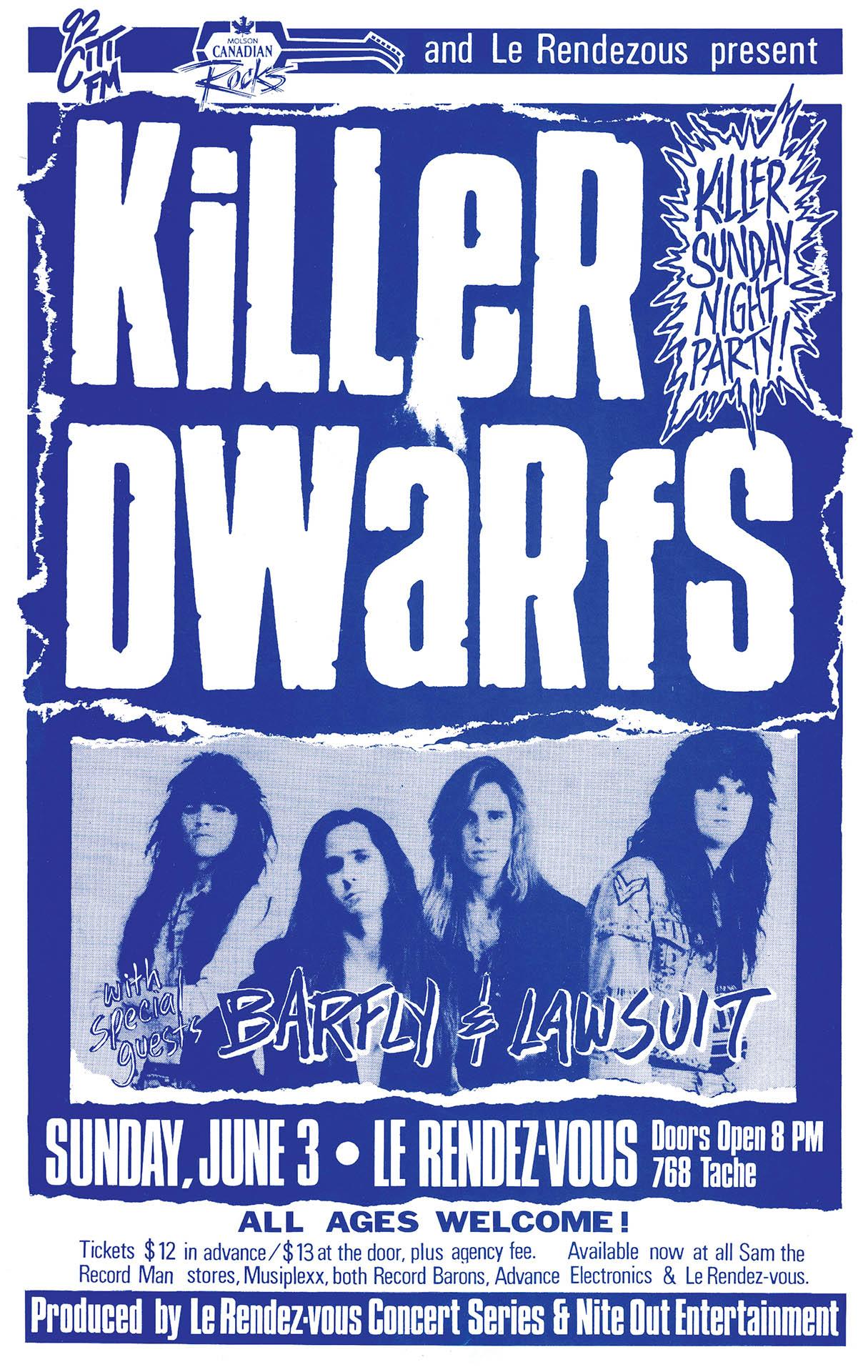Killer Dwarfs - 1990