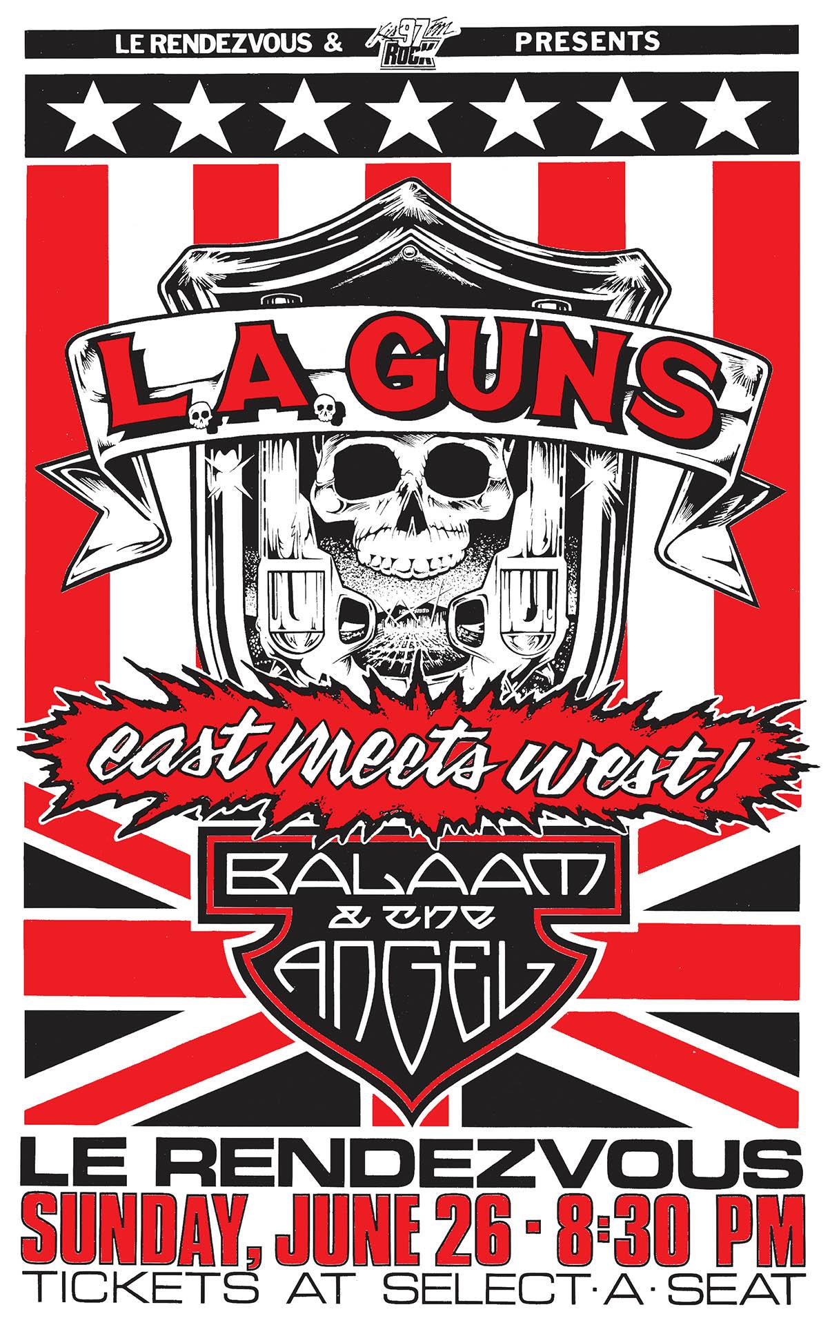 LA Guns - 1988