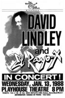 David Lindley - 1988