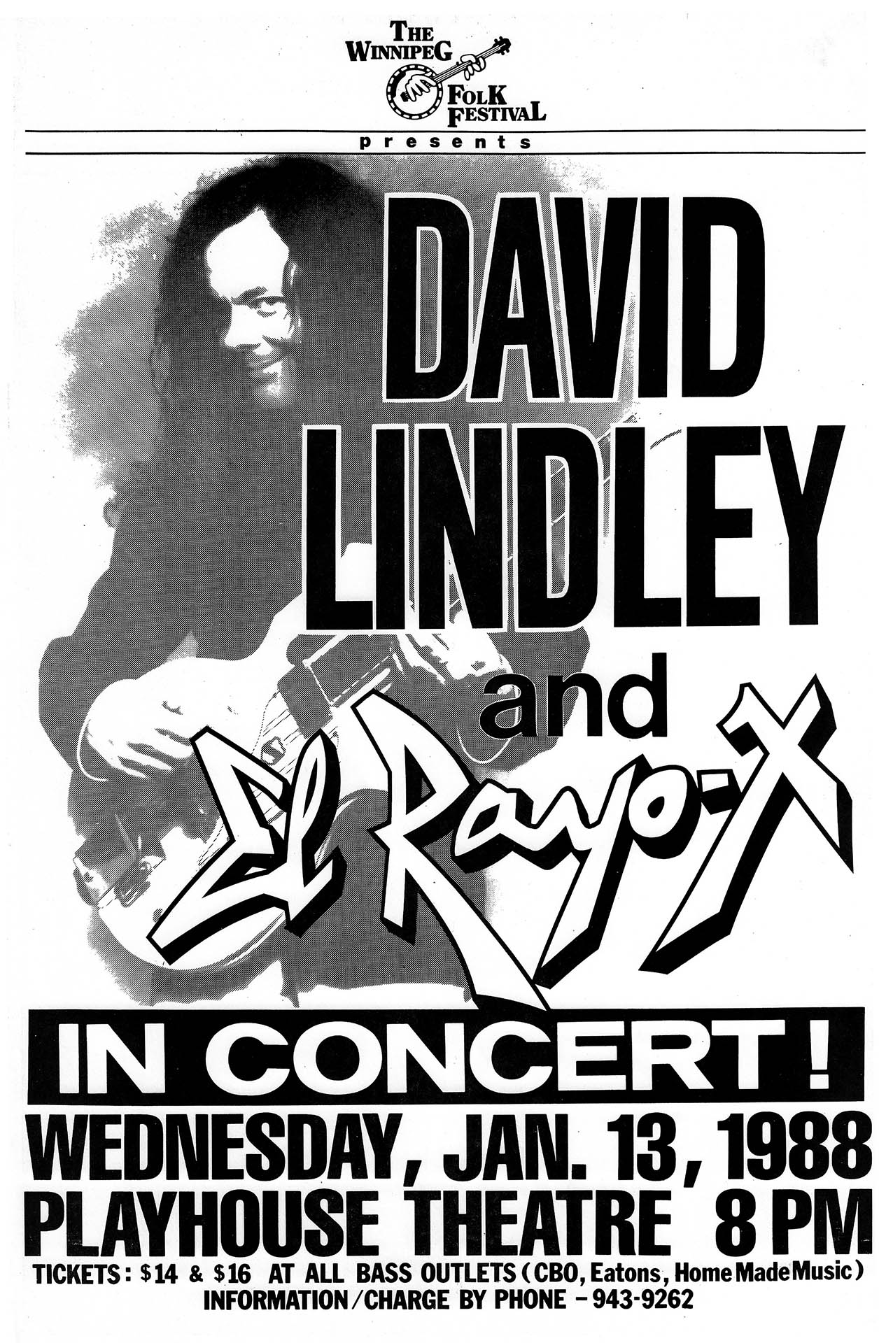 David Lindley – 1988