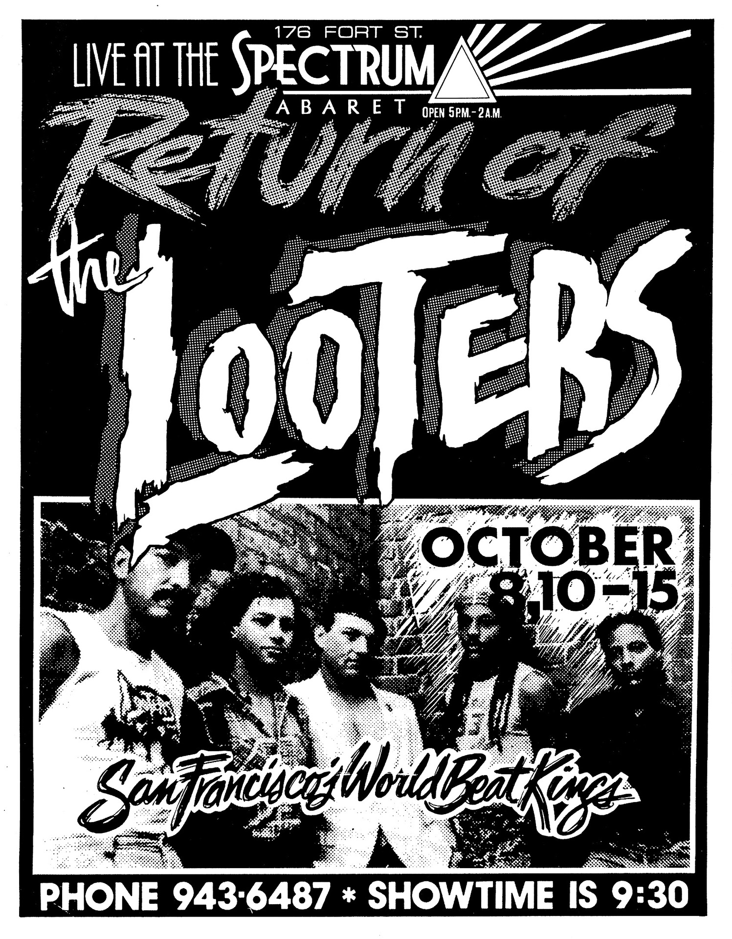 Return of the Looters - 1988