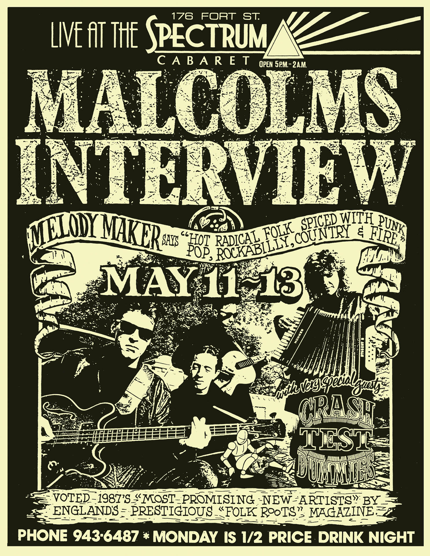 Malcolms Interview – 1988