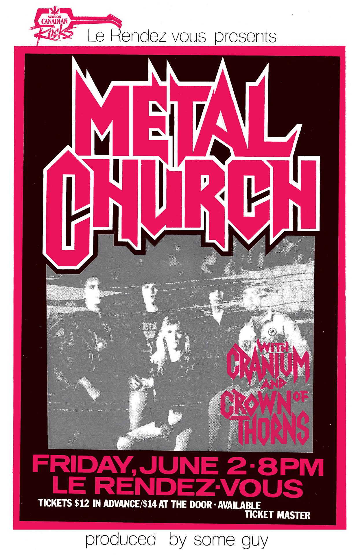 Metal Church - 1989
