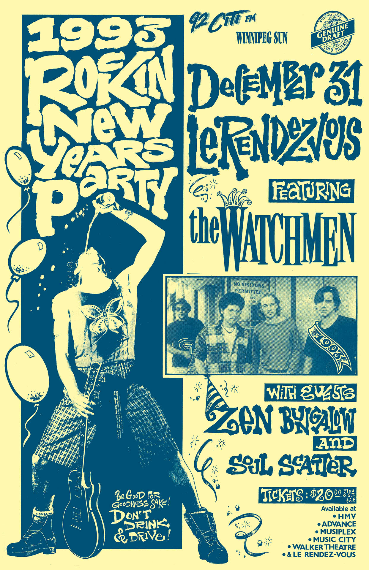 1993 Rockin New Years Party - 1992