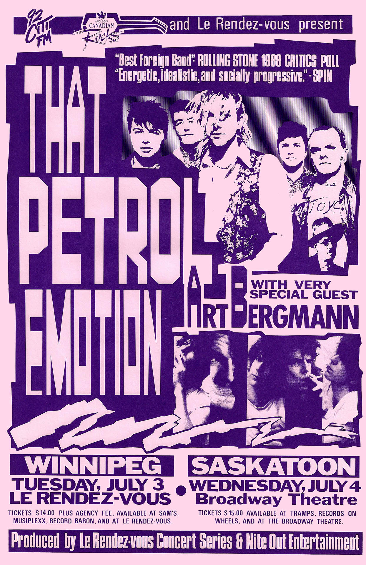 That Petrol Emotion - 1990