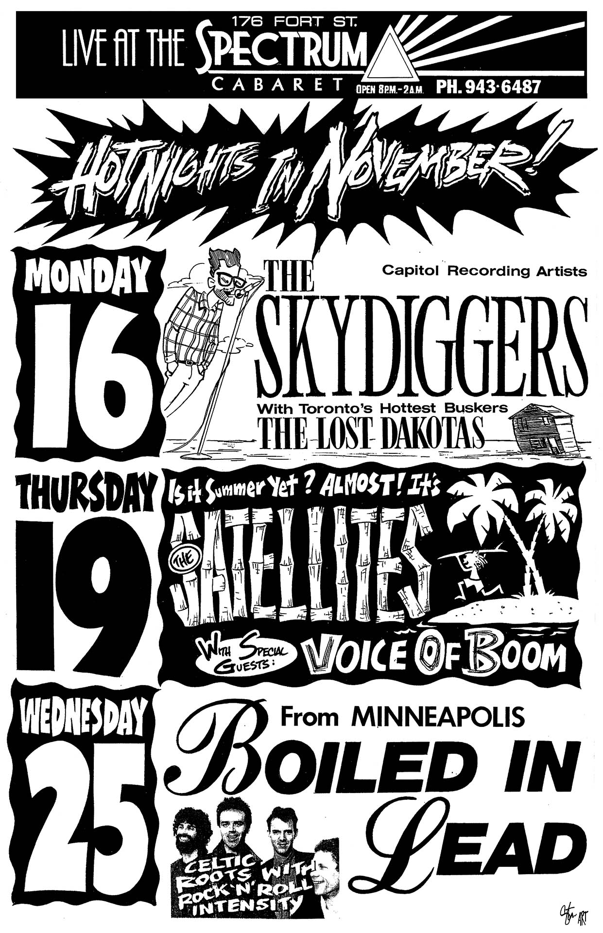 The Sykdiggers - 1992