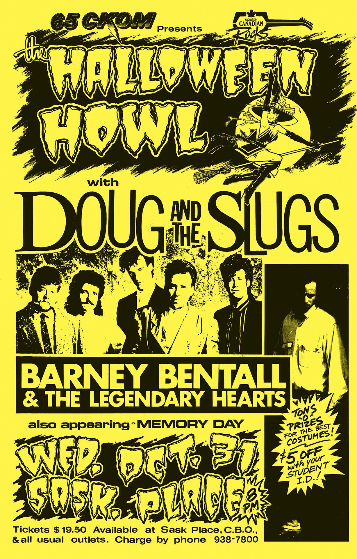 Doug and the Slugs - 1990