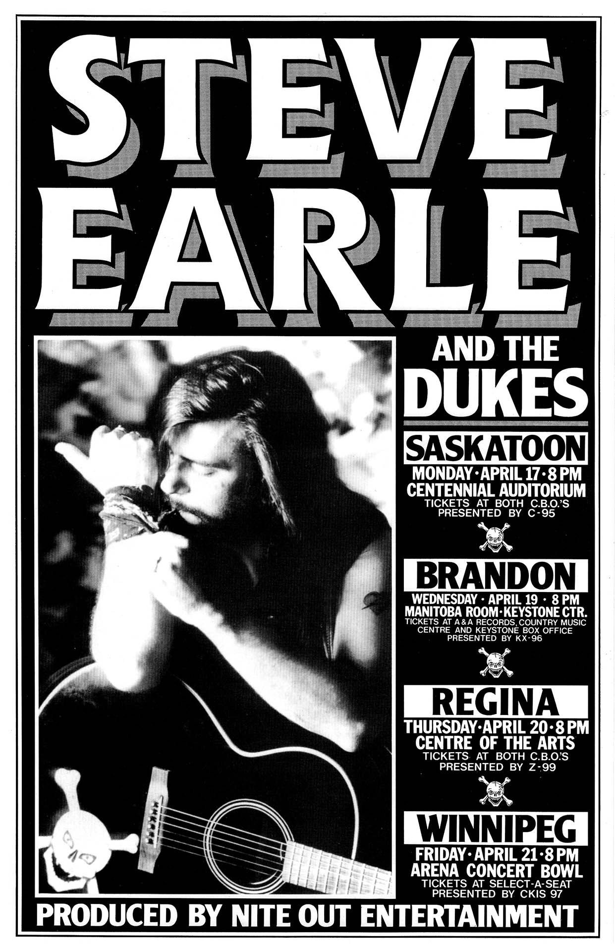 Steve Earle - 1989