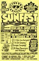 Sunfest Info - 1992