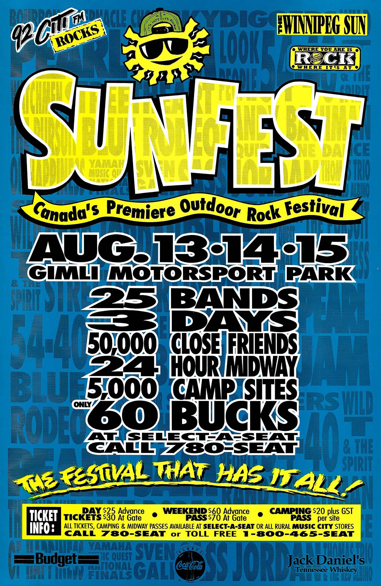 Sunfest – 1993