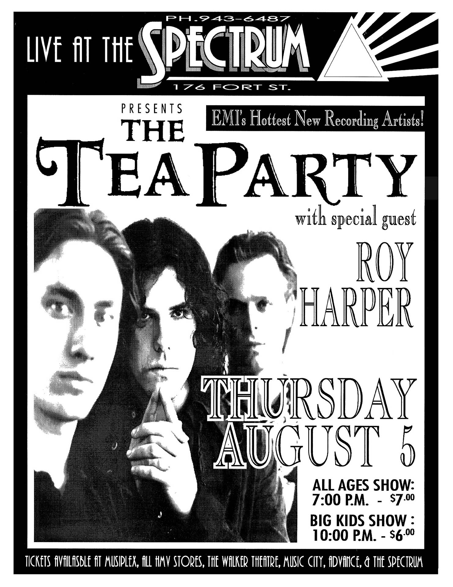 The Tea Party - 1993