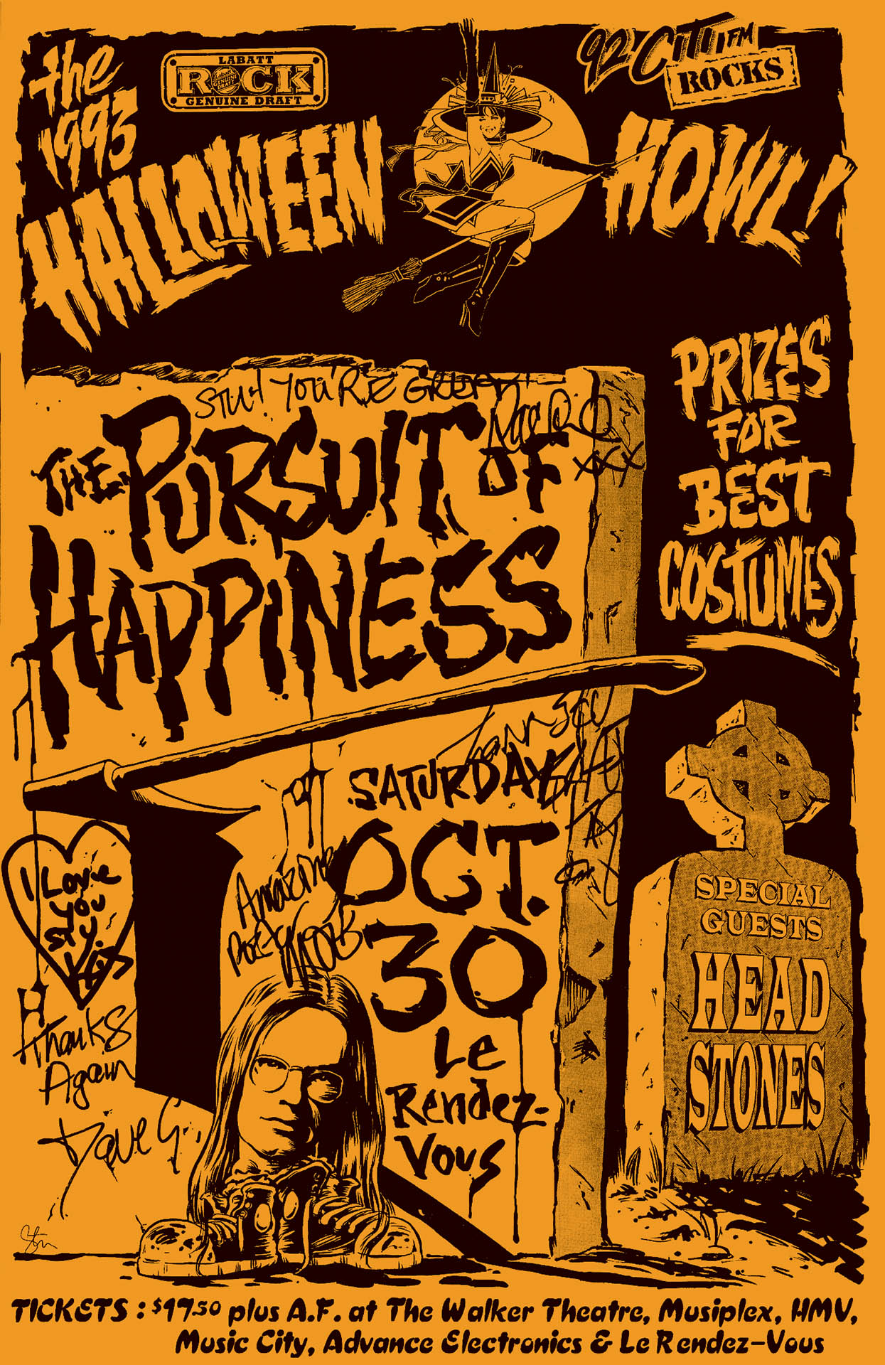 The Pursuit Of Happiness - Halloween - 1993