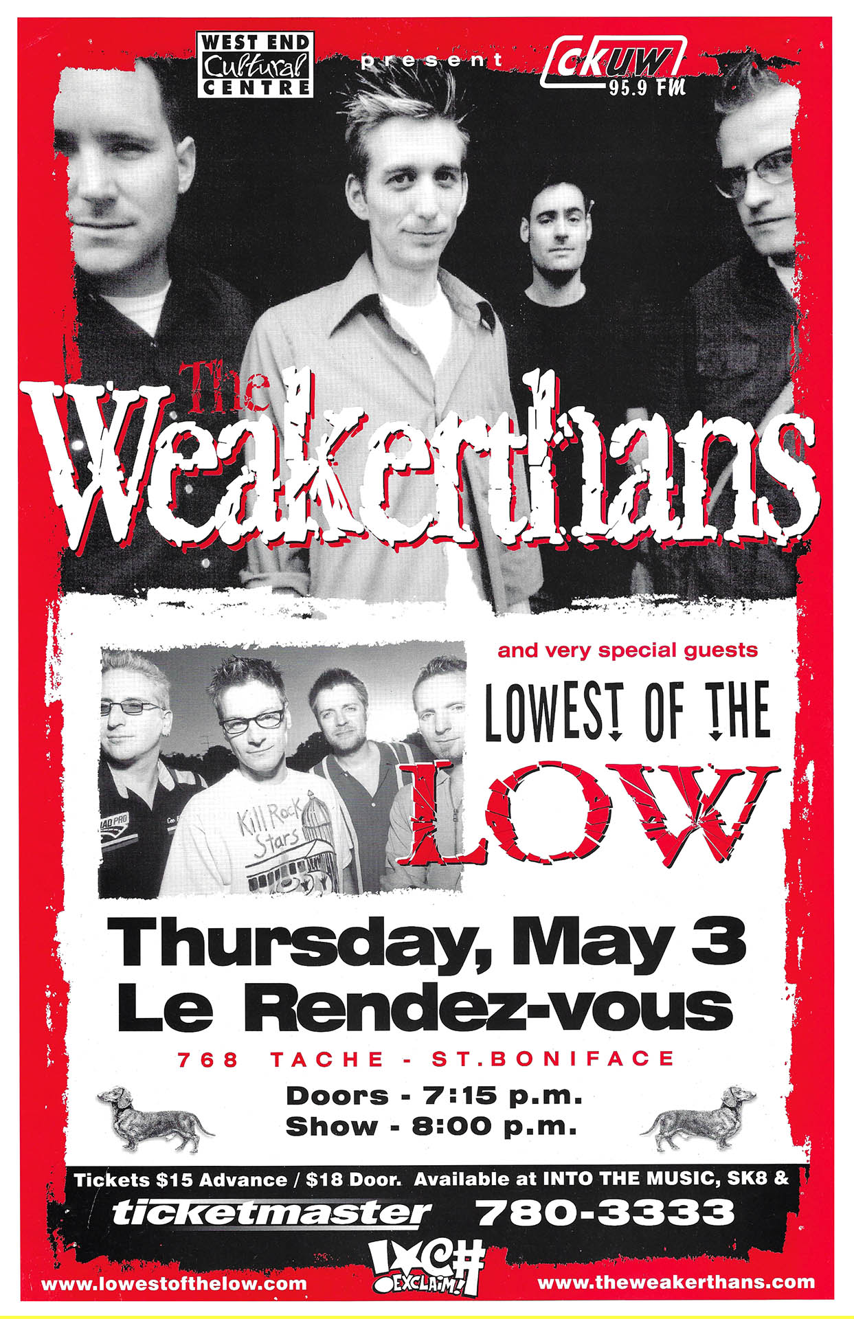 The Weakerthans - 1990