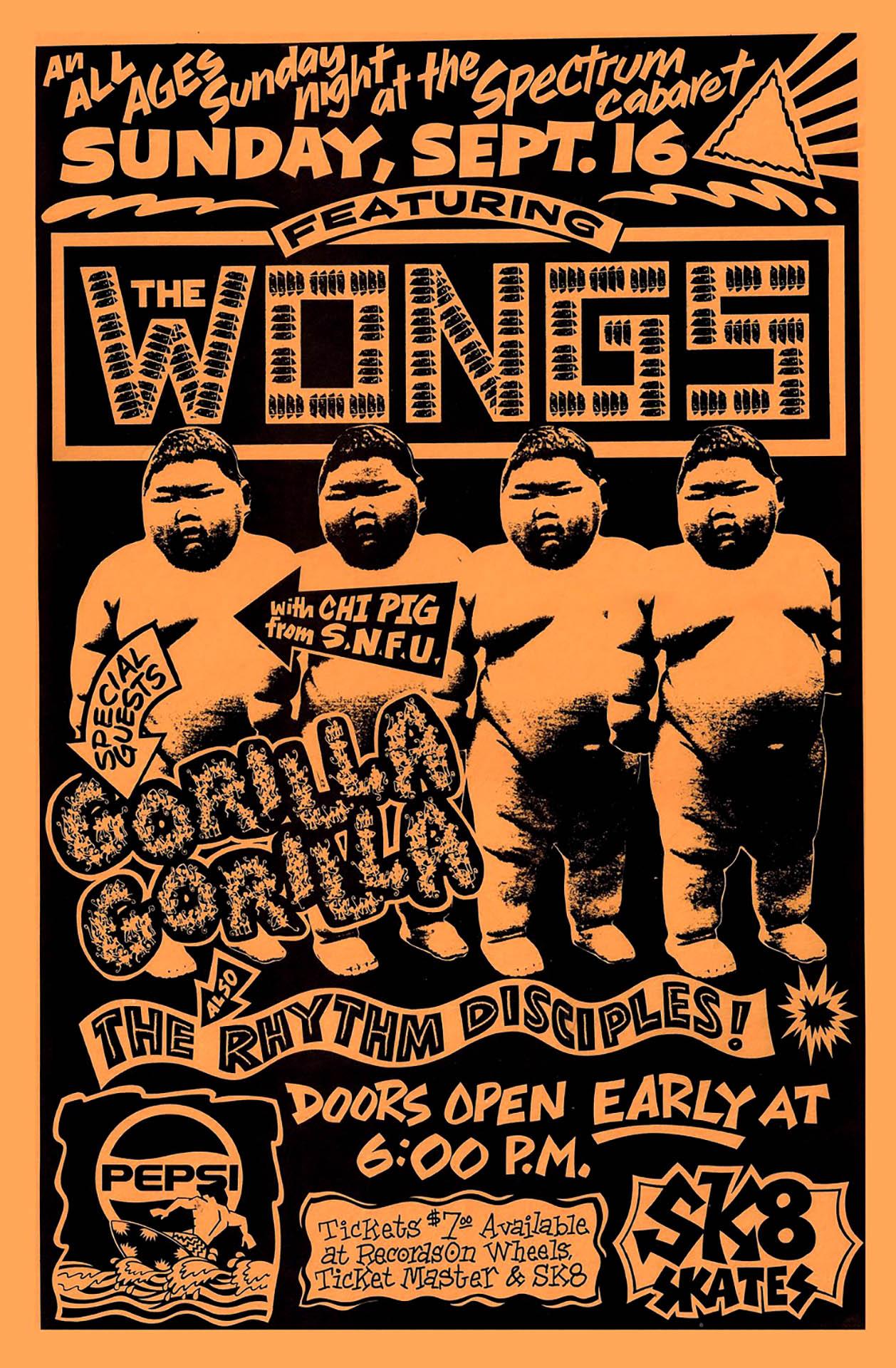 The Wongs - 1990