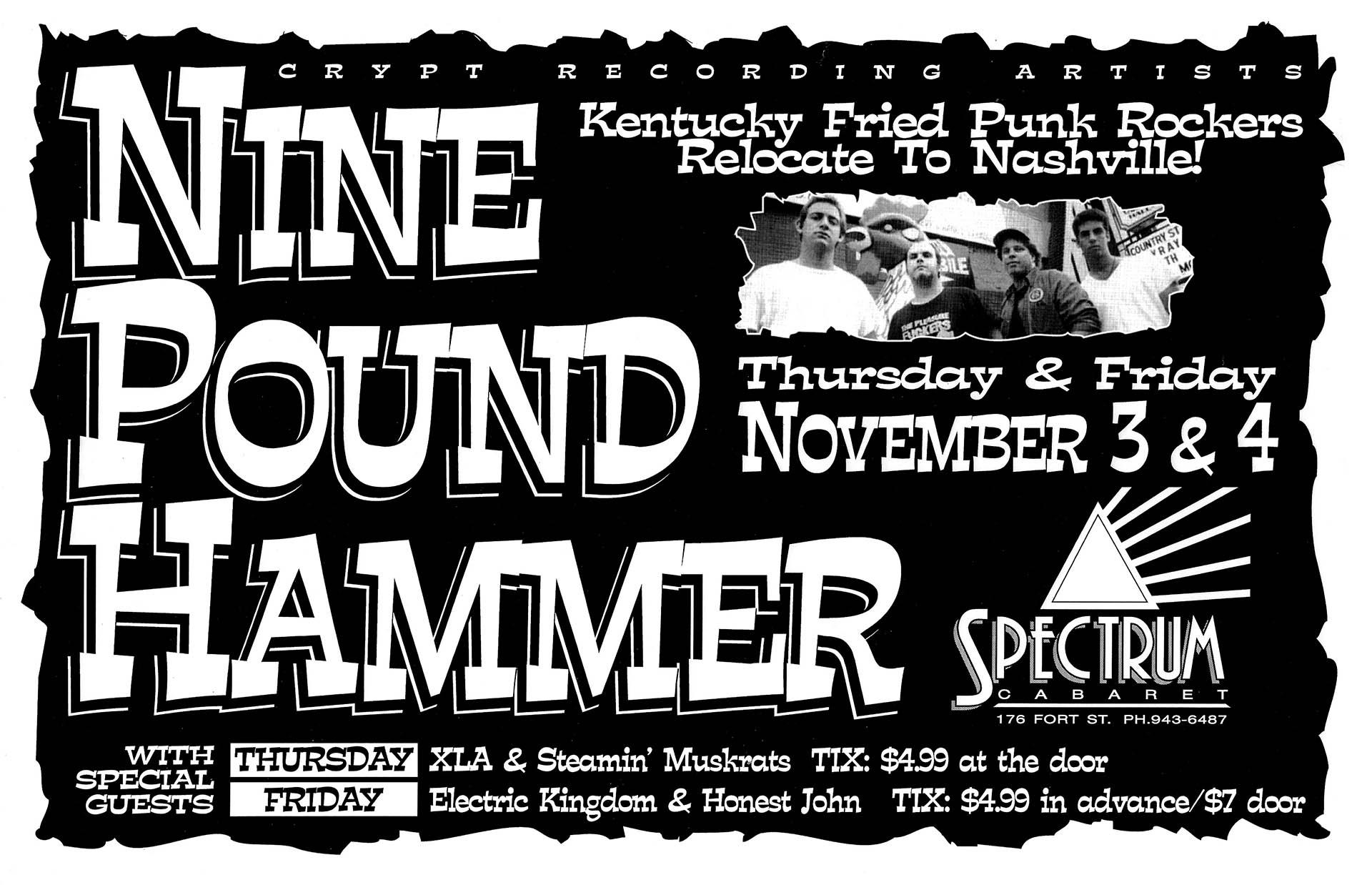 Nine Pound Hammer - 1994