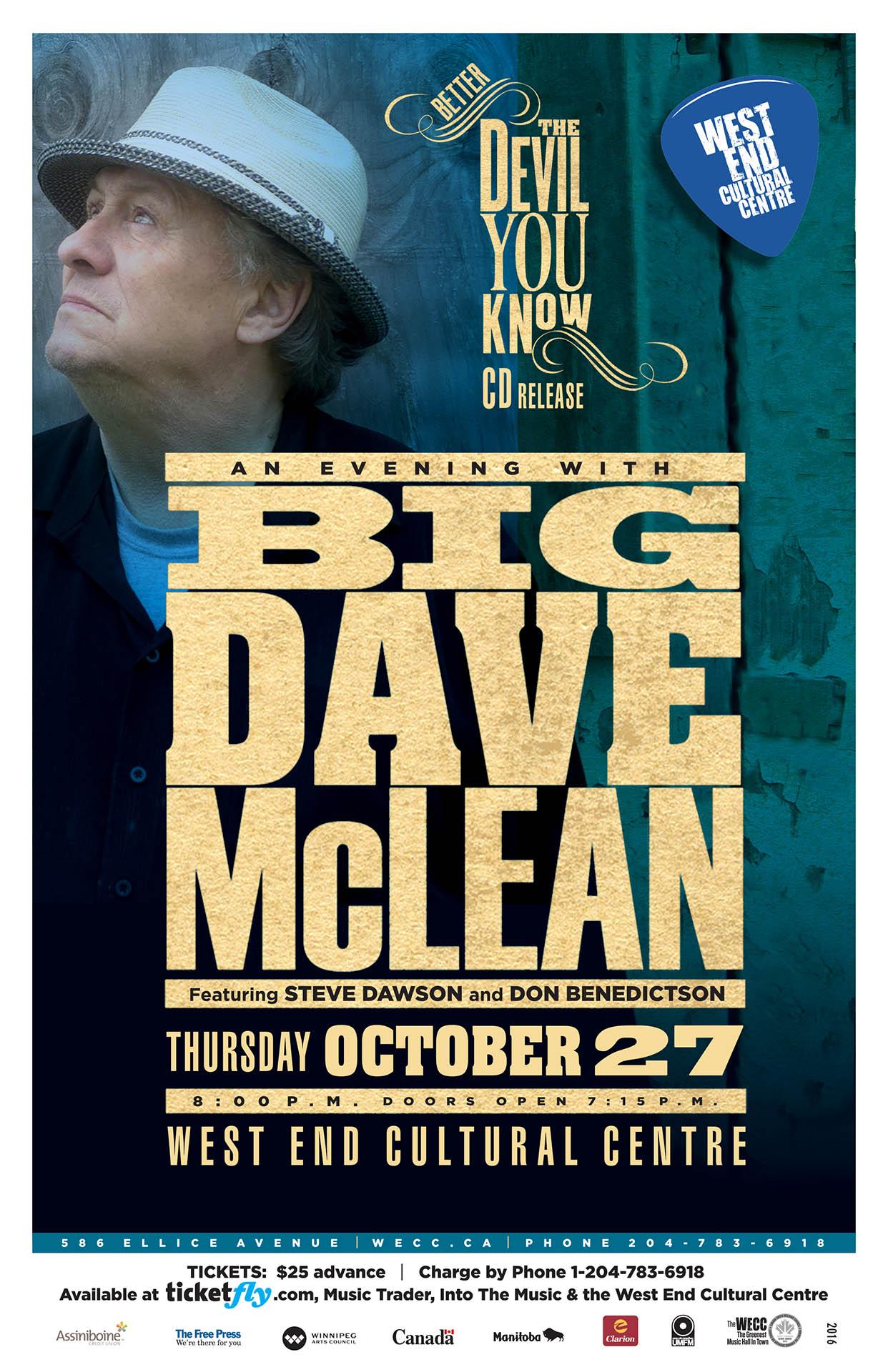 Big Dave McLean - 2016