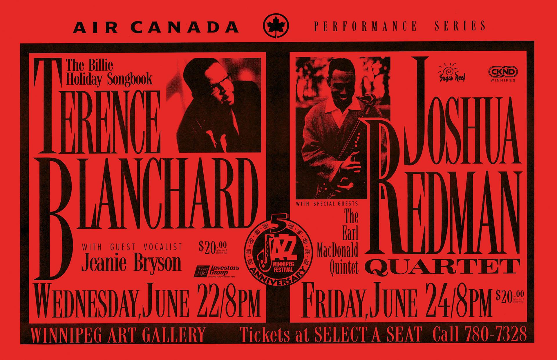 Terrance Blanchard & Joshua Redman - 1994
