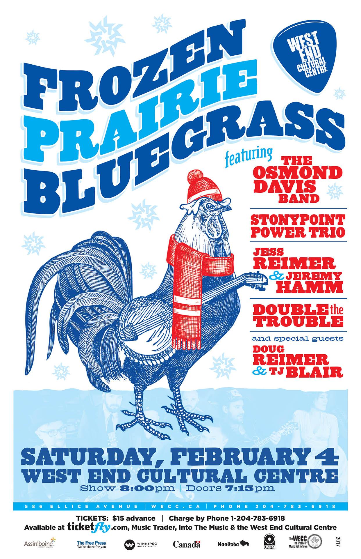 Frozen Prairie Bluegrass - 2017