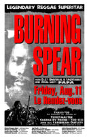 Burning Spear - 1995
