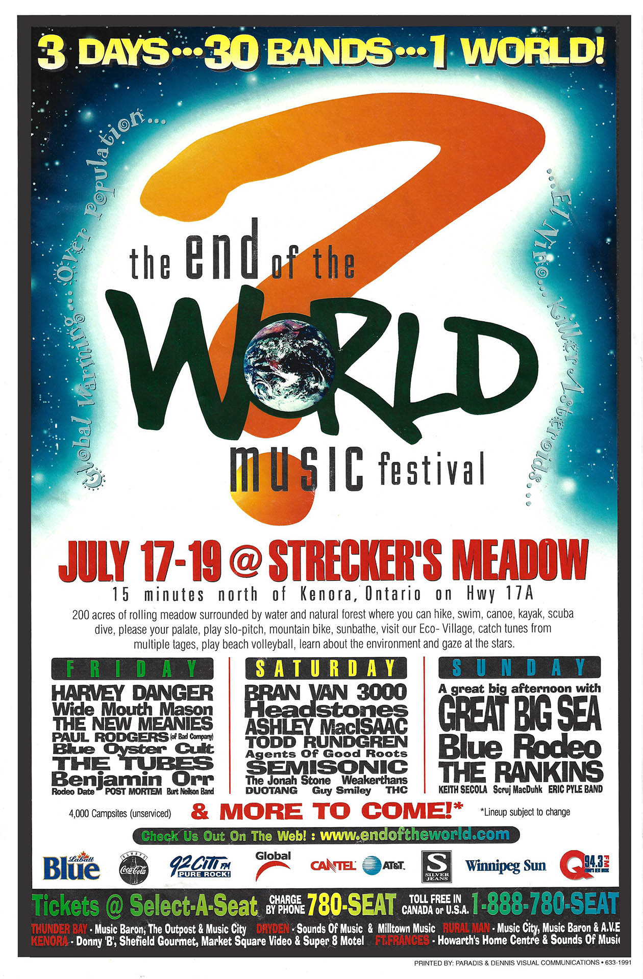 The End Of The World Music Fest – 1998