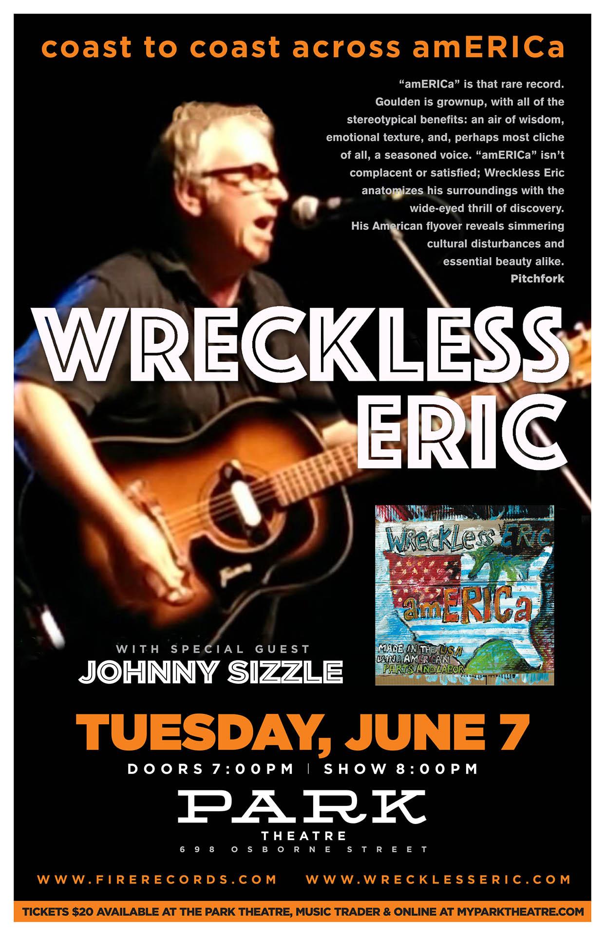 Wreckless Eric - 2016