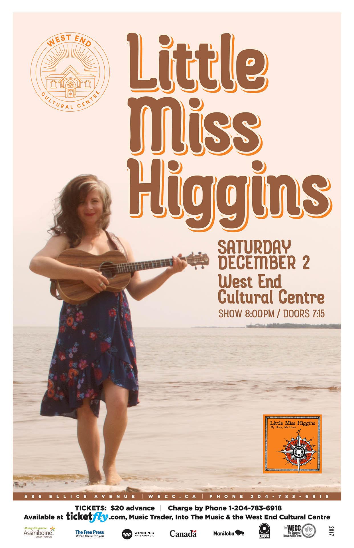 Little Miss Higgins - 2017
