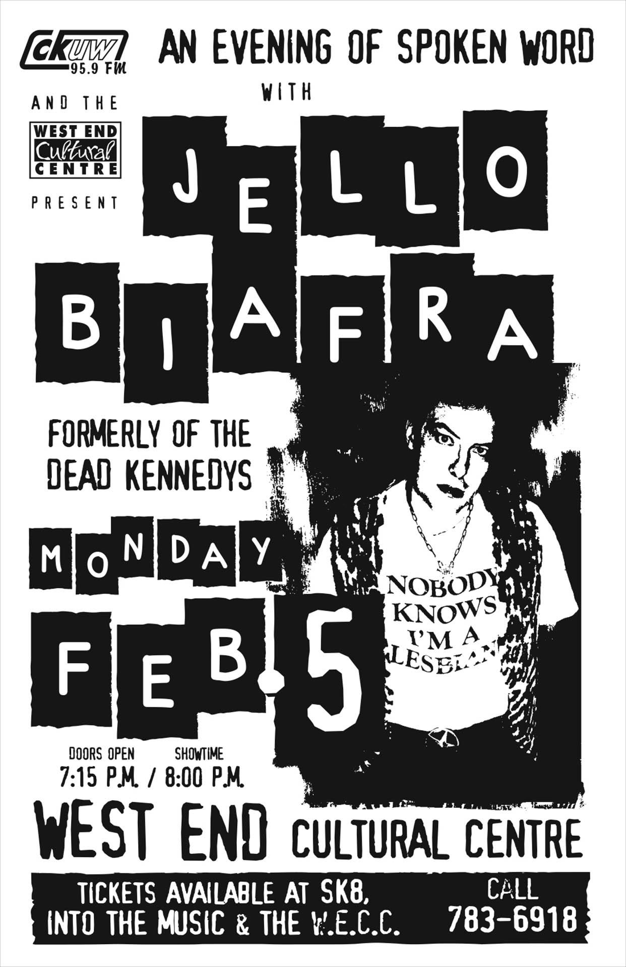 Jello Biafra  - 2001