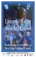 Lauren Mann & West My Friend - 2016