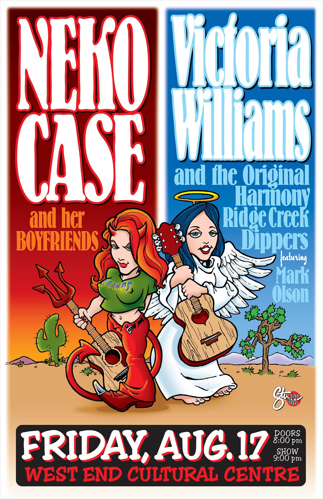 Neko Case & Victoria Williams - 2001