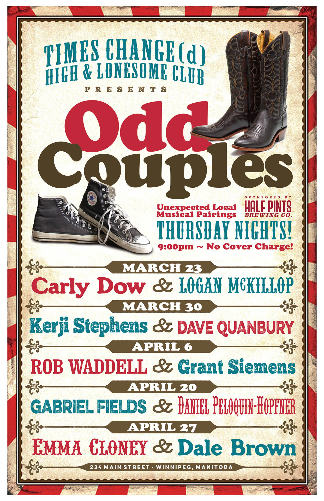 Odd Couples - 2017