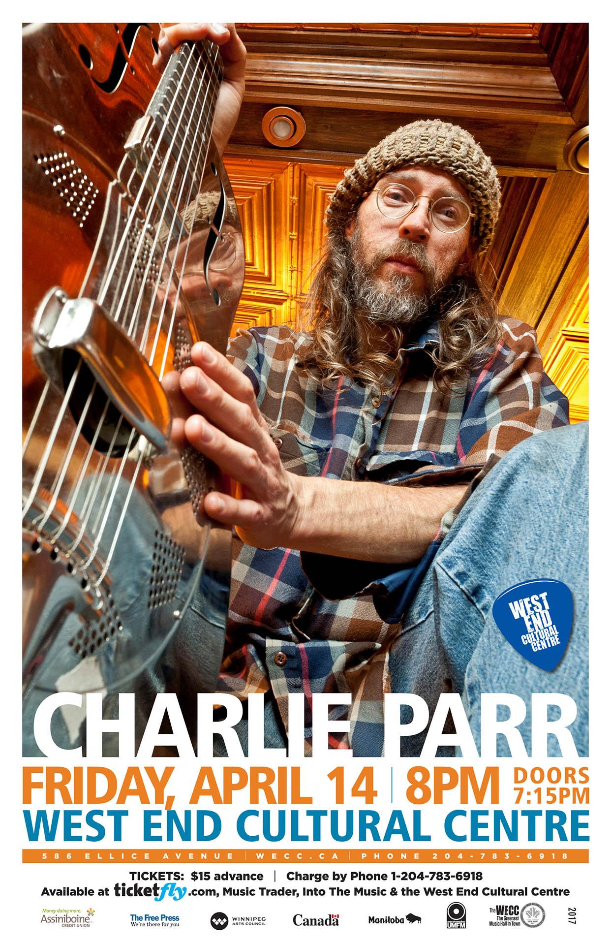 Charlie Parr - 2017