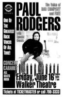Paul Rodgers - 1995
