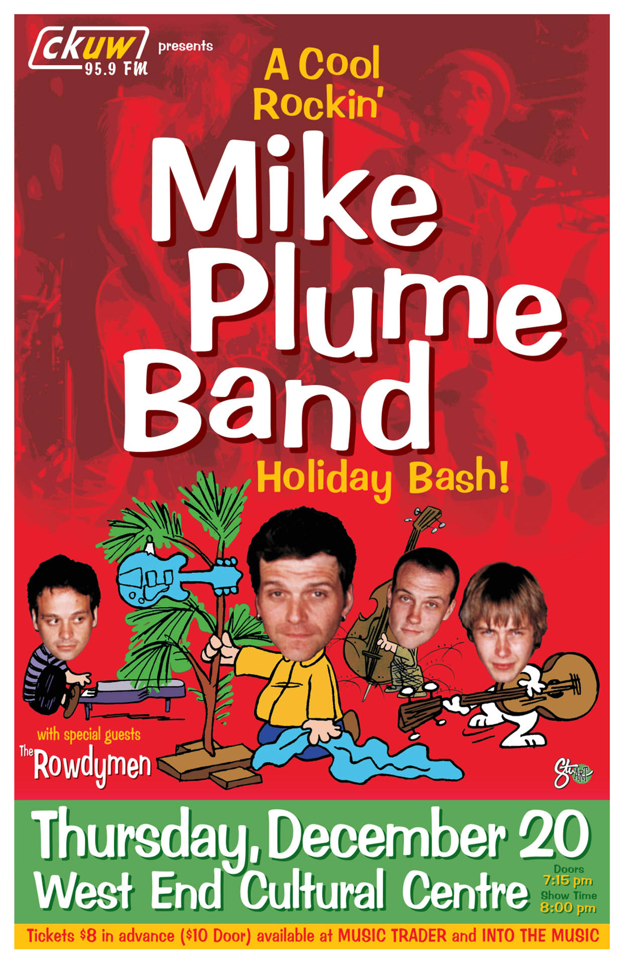 The Mike Plume Band - xmas - 2001
