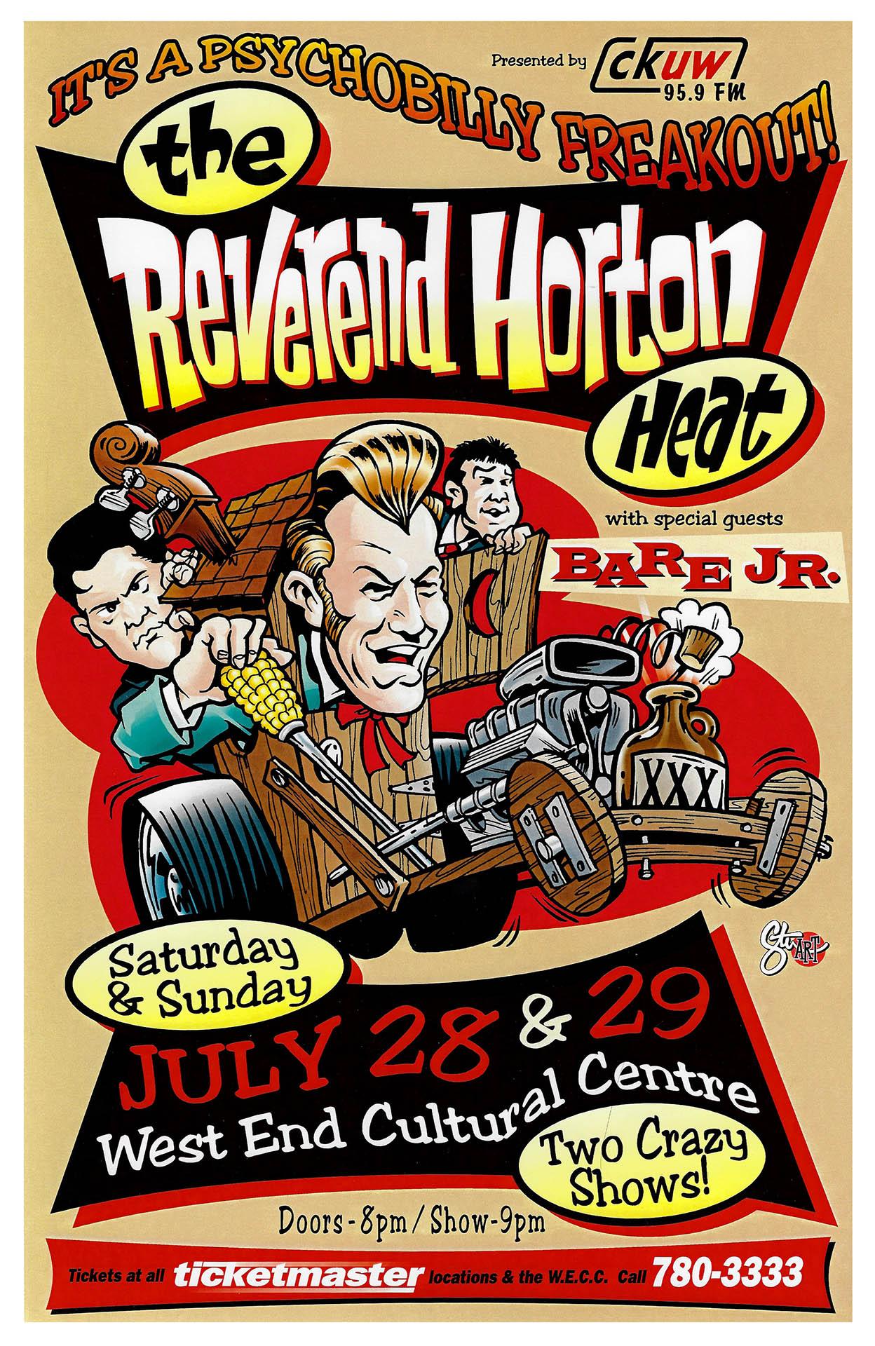 The Reverend Horton Heat - 2001