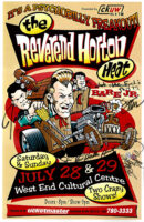 The Reverend Horton Heat - Signed - 2001