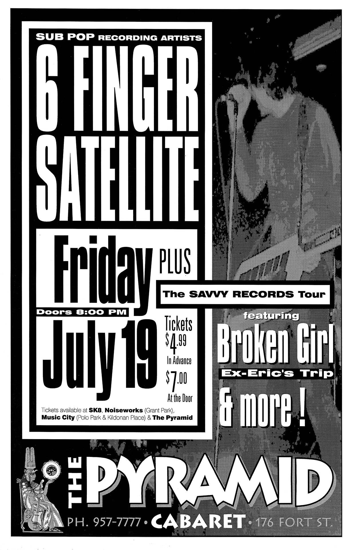 Six Finger Satellite - 1996